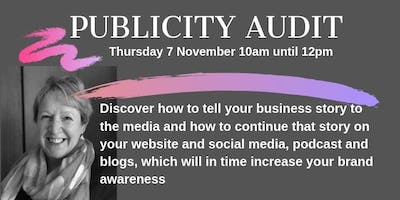 Gill Simmons - Publicity Audit
