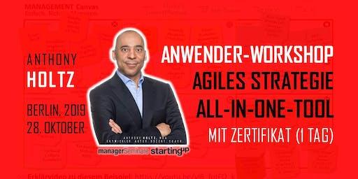 Agiles Strategie-All-In-One-Tool.  Anwender-Workshop mit Zertifikat (1 Tag)