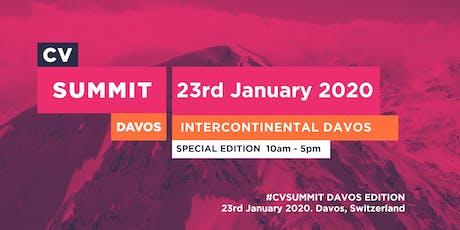 CV SUMMIT - Intercontinental Hotel Davos tickets