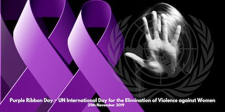 PURPLE RIBBON DAY - Elimination of Violence Against Women tickets