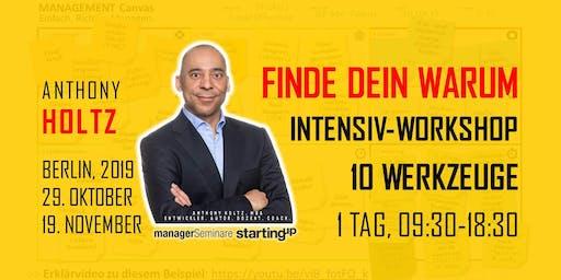 FINDE DEIN WARUM! INTENSIV-WORKSHOP (1 Tag)