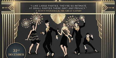 Great Gatsby New Year's Eve Black Tie Gala Dinner tickets