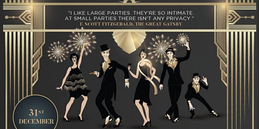 Great Gatsby New Year's Eve Black Tie Gala Dinner