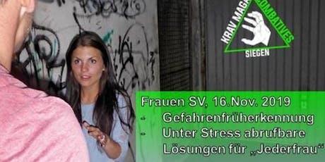 Selbstverteidigung für Frauen - Grundlagen tickets