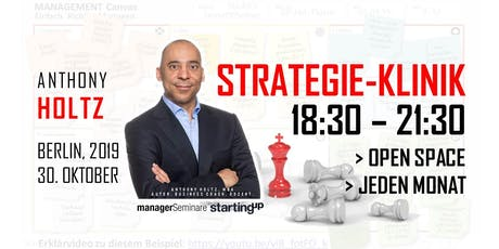 STRATEGIE KLINIK [Open Space, Okt. 19] Tickets