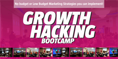 Growth Hacking Bootcamp MILTON KEYNES Marketing hacks to grow your business