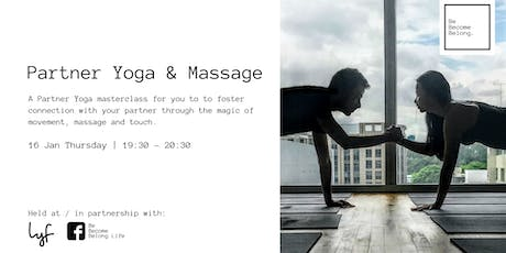 Partner Yoga & Massage tickets