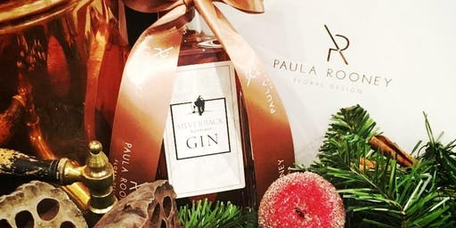 Luxury Christmas Wreath and Cocktail Masterclass with Paula Rooney and Gorilla Spirits