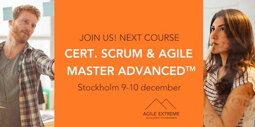 Certified Scrum & Agile Master Advanced™