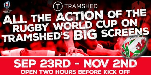 Rugby World Cup: Semi-Final (Tramshed, Cardiff)