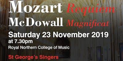 Mozart Requiem, McDowell Magnificat