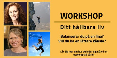 Workshop Ditt Hållbara Liv tickets