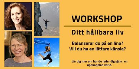 Workshop Ditt Hållbara Liv biljetter