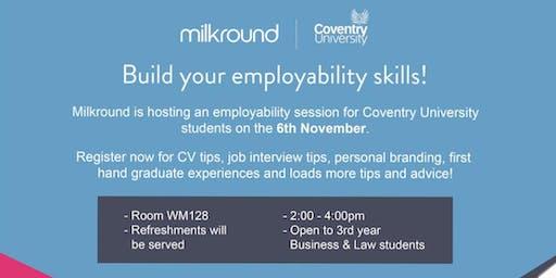 Build your employability skills with Milkround!