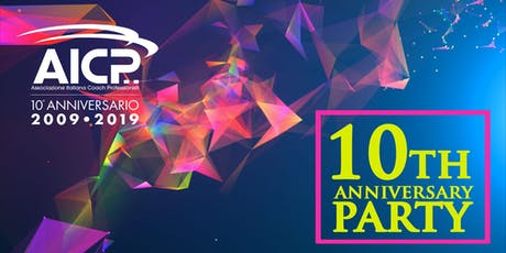 Festa dei 10 anni di AICP biglietti