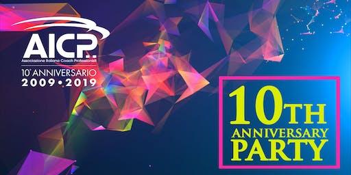 Festa dei 10 anni di AICP