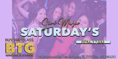 Live Music Saturday's | Houston tickets
