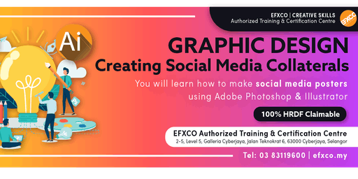 "AUTHORISED TRAINING: GRAPHIC DESIGN ""Creating Social Media Collaterals"""