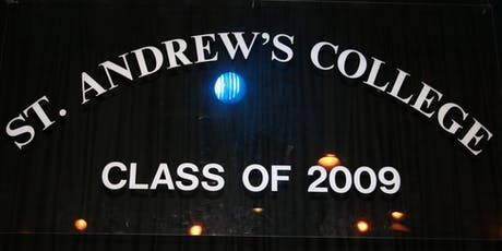 St Andrew's College Dublin Class of 2009 - Ten Year Reunion tickets