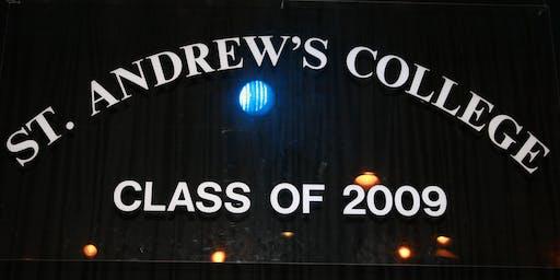 St Andrew's College Dublin Class of 2009 - Ten Year Reunion