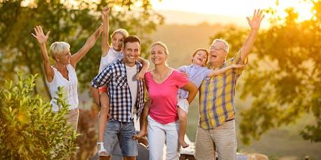 Mit dem Familien-Schatz für Ihre persönliche Sicherheit und Wohlstand Tickets