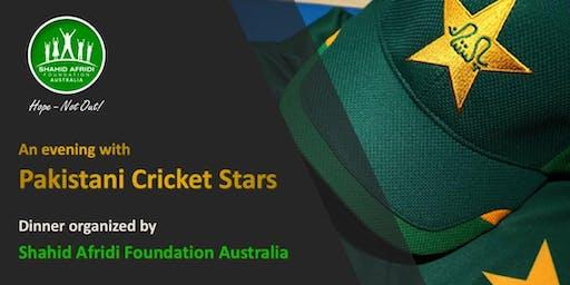 An Evening with Pakistani Cricket Stars