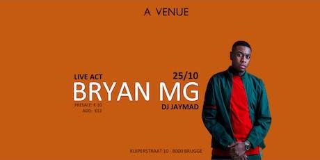 Bryan MG / Avenue Brugge tickets