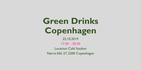 Green Drinks Copenhagen - October edition tickets