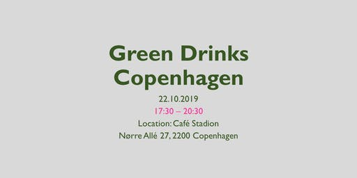 Green Drinks Copenhagen - October edition