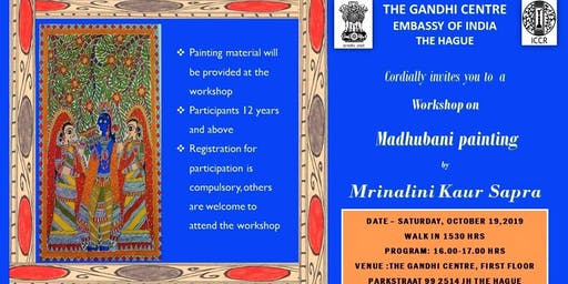 Workshop on Madhubani Painting by Mrinalini Kaur Sapra