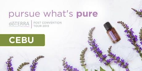 Cebu Post Convention Tour - doTERRA Philippines tickets