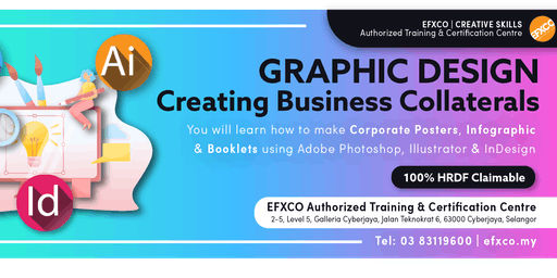 """AUTHORISED TRAINING: GRAPHIC DESIGN """"Making Business Collaterals"""""""