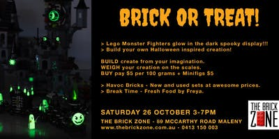 Brick or Treat Halloween Lego Event