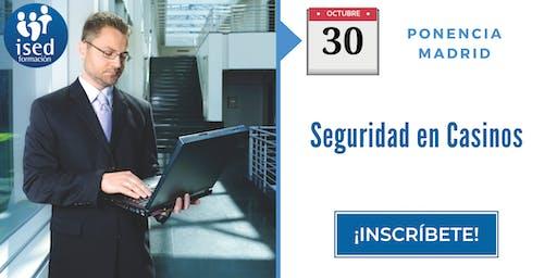 Ponencia: Seguridad en casinos 30-OCT