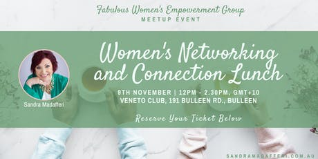 FAB Women Meetup: Women's Networking and Connection Lunch tickets