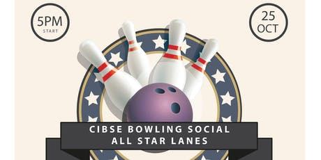 CIBSE North West Social - Bowling, Food & Drinks tickets