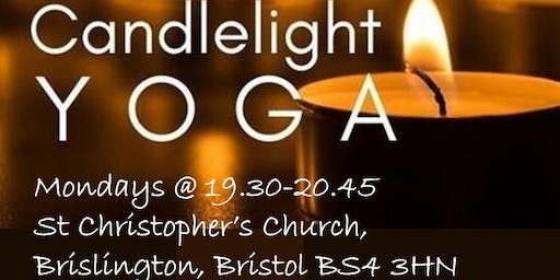 Monday Night Candlelight Yoga