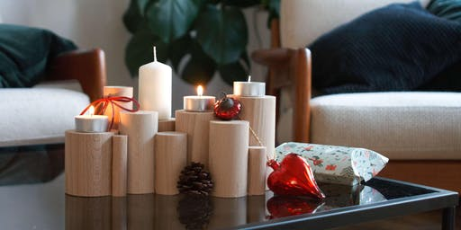 DIY-Workshop: Hölzerner Adventskranz