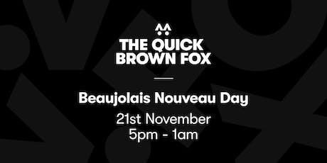 Beaujolais Nouveau Day tickets
