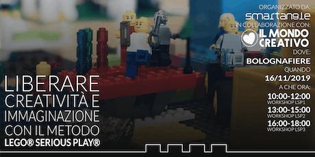 Liberare creatività e immaginazione con il metodo LEGO® SERIOUS PLAY® biglietti