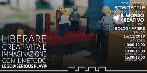 Liberare creatività e immaginazione con il metodo LEGO® SERIOUS PLAY®