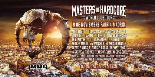 Masters of Hardcore en FABRIK