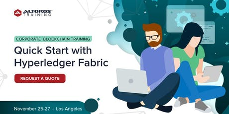 Corporate Blockchain Training: Quick start with Hyperledger Fabric [Los Angeles] tickets