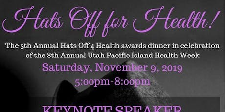 5th Annual Hats Off for Health Awards Dinner tickets