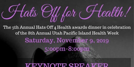 5th Annual Hats Off for Health Awards Dinner