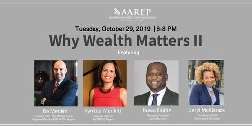 Why Wealth Matters II - Building a Legacy