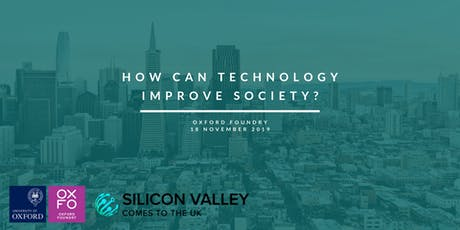 How can technology improve our society? tickets