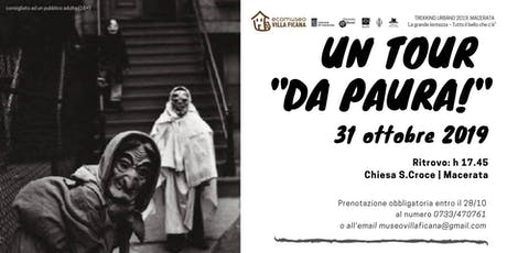 "Un tour ""da paura!"" - Trekking Urbano 2019 biglietti"