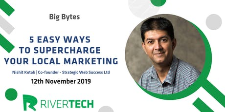 5 Easy Ways to Supercharge your Local Marketing tickets