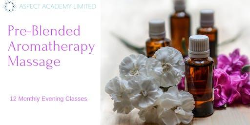 Pre-Blended Aromatherapy Massage